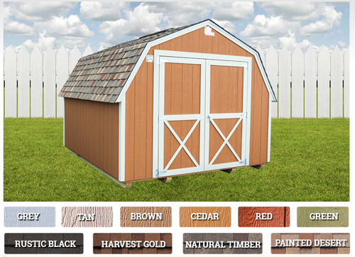 Choosing a Color for your Shed