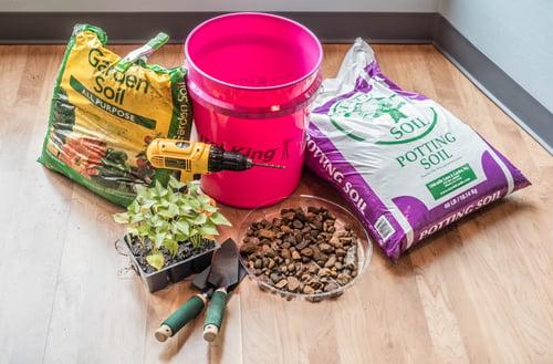 Supplies Needed for a container Garden