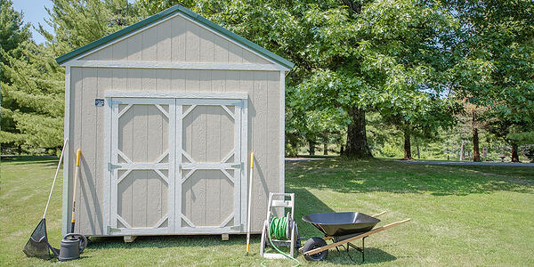 cook utility shed