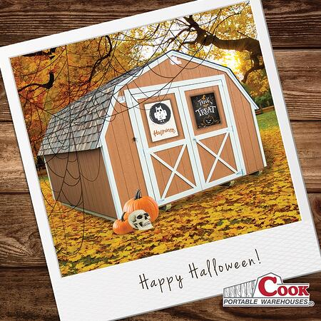 Creative Ways to Use Your Shed This Halloween + Cook Portable Warehouses