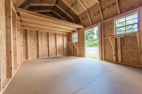 Inside a Handyman shed