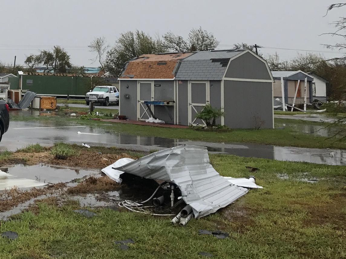 Sheds After Hurricane Harvey
