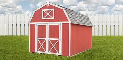 Cook Portable Warehouses Lofted Barn