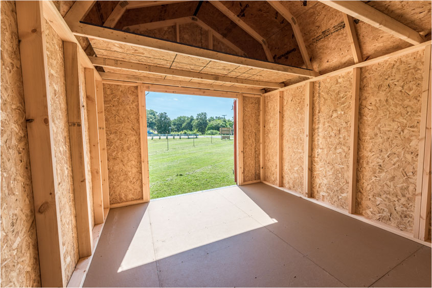 What do you need to put in your Lofted Barn shed?