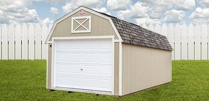 Cook Portable Warehouses Lofted Garage