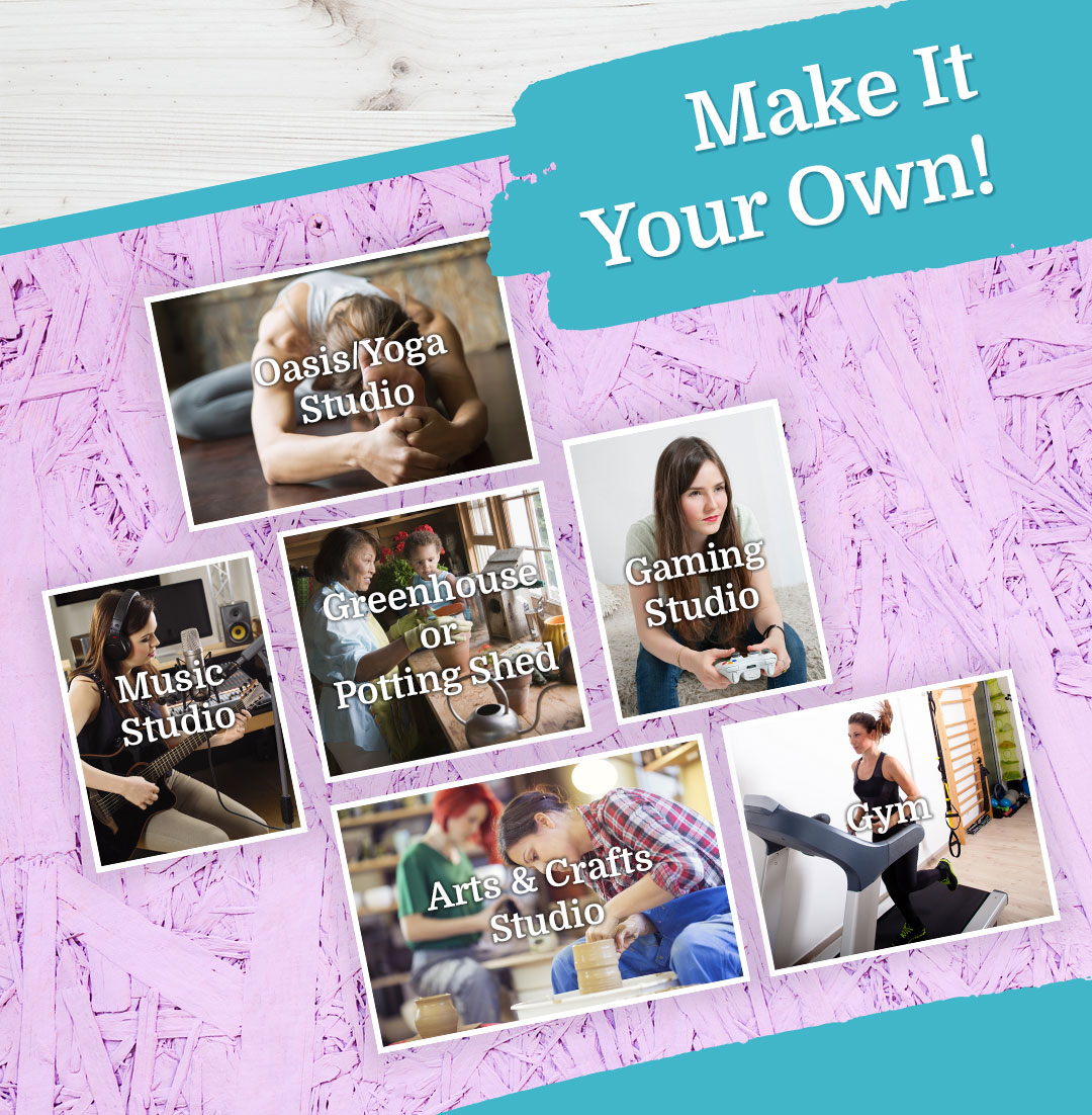 Make Your She Shed Your Own