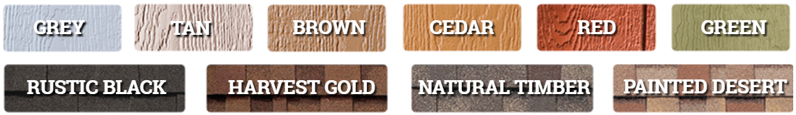 shed color choices