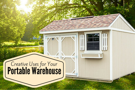Creative Uses for Your Portable Warehouse + Cook Portable Warehouses