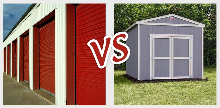 storage unit vs shed