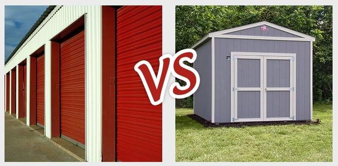 storage unit vs shed