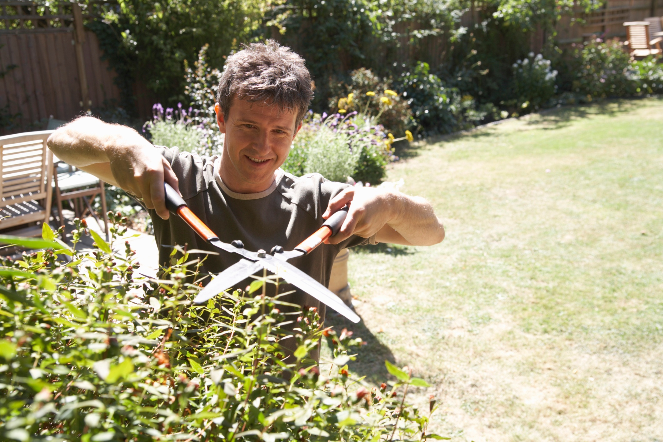 Trim Overgrown Plants To Secure Your Shed + Cook Portable Warehoues