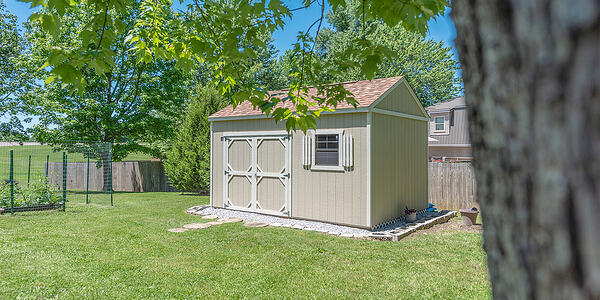 Backyard Shed from Utility Shed